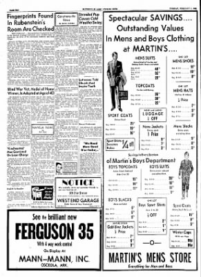 The Courier News from Blytheville, Arkansas on February 1, 1955 · Page 10