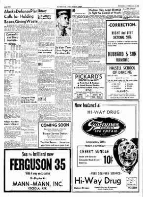The Courier News from Blytheville, Arkansas on February 2, 1955 · Page 2