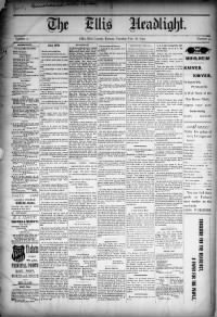 Sample Ellis Review Headlight front page