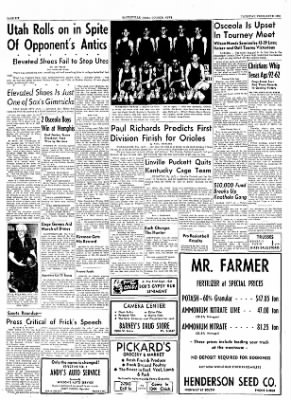 The Courier News from Blytheville, Arkansas on February 3, 1955 · Page 6