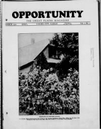 Sample Opportunity front page