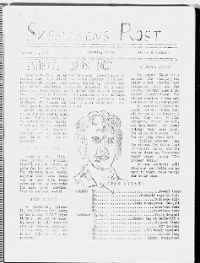 Sample Svenskens Rost front page