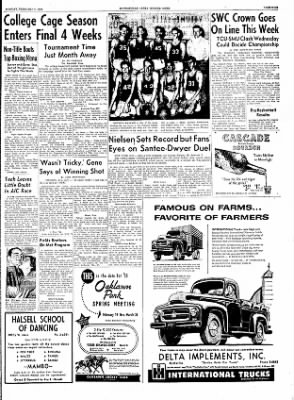 The Courier News from Blytheville, Arkansas on February 7, 1955 · Page 9