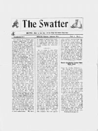 Sample The Swatter front page