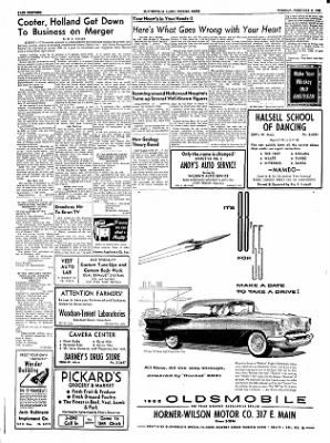 The Courier News from Blytheville, Arkansas on February 8, 1955 · Page 18