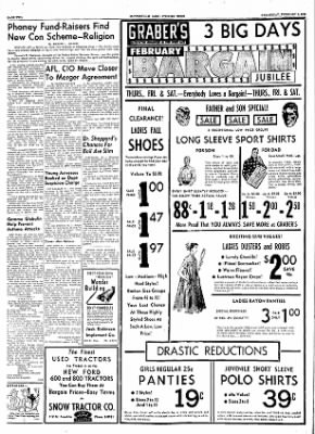 The Courier News from Blytheville, Arkansas on February 9, 1955 · Page 2