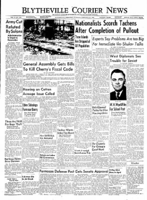 The Courier News from Blytheville, Arkansas on February 10, 1955 · Page 1
