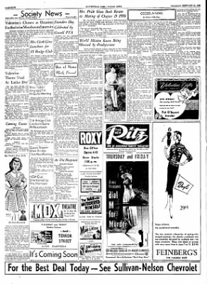 The Courier News from Blytheville, Arkansas on February 10, 1955 · Page 4
