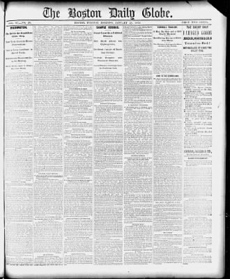 The Boston Globe from Boston, Massachusetts on January 28, 1879 · 1