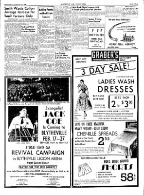 The Courier News from Blytheville, Arkansas on February 16, 1955 · Page 3