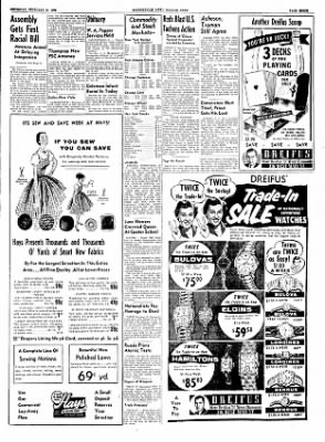 The Courier News from Blytheville, Arkansas on February 17, 1955 · Page 3