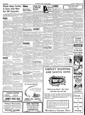 The Courier News from Blytheville, Arkansas on February 19, 1955 · Page 10