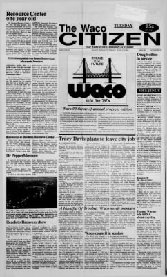 The Waco Citizen from Waco, Texas on June 6, 1989 · Page 1