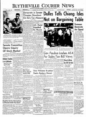 The Courier News from Blytheville, Arkansas on March 3, 1955 · Page 1