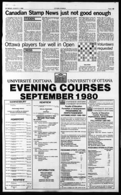 The Ottawa Journal from Ottawa, Ontario, Canada on August 2, 1980