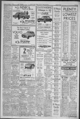 El Paso Times from El Paso, Texas on November 7, 1959 · 19 Tiest Wv Mobile Home on