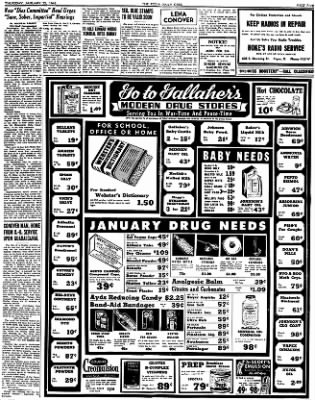 The Piqua Daily Call from Piqua, Ohio on January 25, 1945 · Page 5