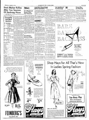 The Courier News from Blytheville, Arkansas on March 10, 1955 · Page 5