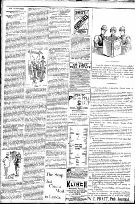 Logansport Pharos-Tribune from Logansport, Indiana on March 27, 1891 · Page 2