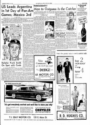 The Courier News from Blytheville, Arkansas on March 14, 1955 · Page 9