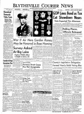 The Courier News from Blytheville, Arkansas on March 15, 1955 · Page 1