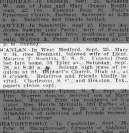 The Boston Globe From Boston Massachusetts On September 27 1918 11