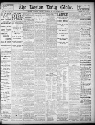 The Boston Globe from Boston 04c2663f437