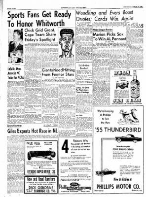The Courier News from Blytheville, Arkansas on March 16, 1955 · Page 8