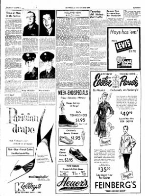 The Courier News from Blytheville, Arkansas on March 17, 1955 · Page 5