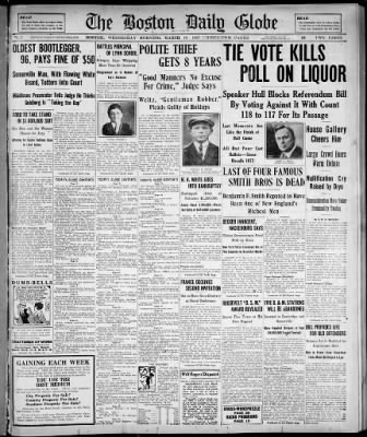 The Boston Globe from Boston, Massachusetts on March 16, 1927 · 1