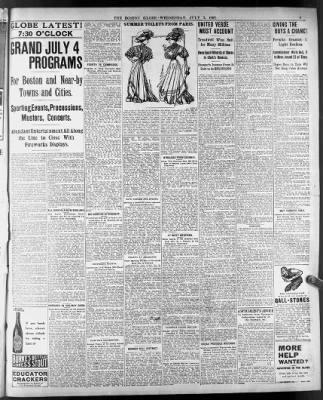 The Boston Globe from Boston, Massachusetts on July 3, 1907 · 5