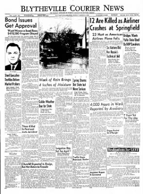 The Courier News from Blytheville, Arkansas on March 21, 1955 · Page 1