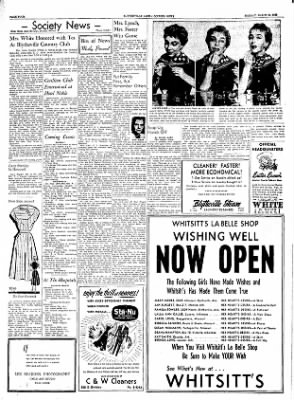 The Courier News from Blytheville, Arkansas on March 21, 1955 · Page 4