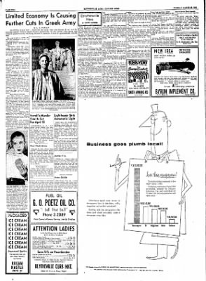 The Courier News from ,  on March 22, 1955 · Page 2