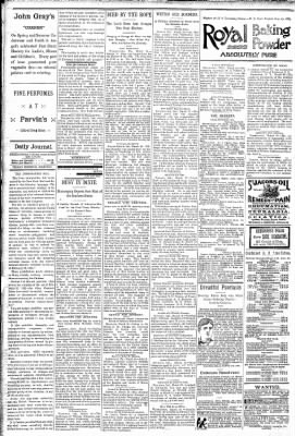 Logansport Pharos-Tribune from Logansport, Indiana on March 27, 1891 · Page 4