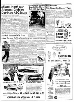 The Courier News from Blytheville, Arkansas on March 24, 1955 · Page 13