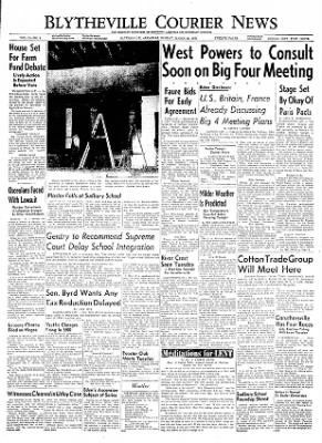 The Courier News from Blytheville, Arkansas on March 28, 1955 · Page 1