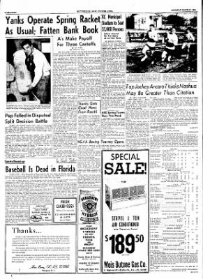 The Courier News from Blytheville, Arkansas on March 31, 1955 · Page 8
