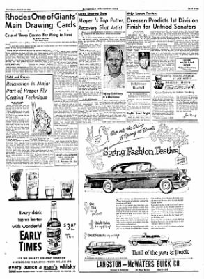 The Courier News from Blytheville, Arkansas on March 31, 1955 · Page 9