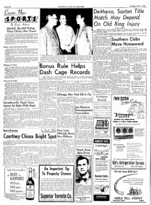The Courier News from Blytheville, Arkansas on April 1, 1955 · Page 6