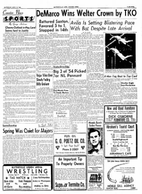 The Courier News from Blytheville, Arkansas on April 2, 1955 · Page 5