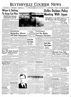The Courier News from Blytheville, Arkansas on April 4, 1955 · Page 1