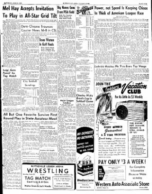 The Courier News from Blytheville, Arkansas on June 21, 1952 · Page 3