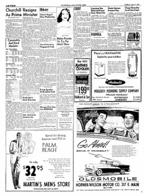 The Courier News from Blytheville, Arkansas on April 5, 1955 · Page 12