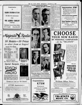 El Paso Times From El Paso Texas On August 21 1930 7
