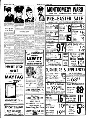 The Courier News from Blytheville, Arkansas on April 7, 1955 · Page 7