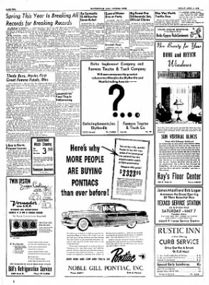 The Courier News from Blytheville, Arkansas on April 8, 1955 · Page 2
