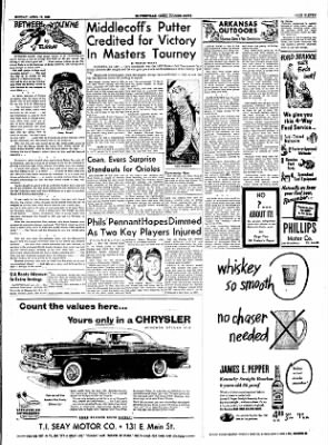 The Courier News from Blytheville, Arkansas on April 11, 1955 · Page 11