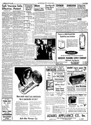 The Courier News from Blytheville, Arkansas on April 12, 1955 · Page 3