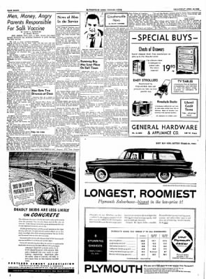 The Courier News from Blytheville, Arkansas on April 13, 1955 · Page 8